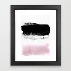 Memory/Feeling Framed Art Print