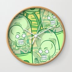 We Come In Peace II The Sequel G Wall Clock