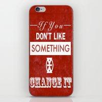 Change It iPhone & iPod Skin