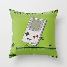 Game with me Boy Throw Pillow