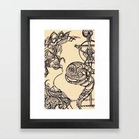 The Seeker Framed Art Print