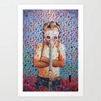 Niño Después Del Tsuna… Art Print