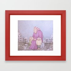Our Lady of Aleppo Framed Art Print