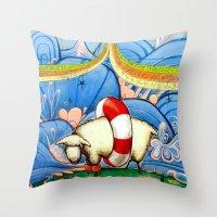 #221 Throw Pillow