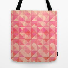 Pink : Pattern Tote Bag