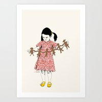 LoveGarlandLove Art Print