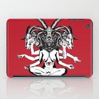Woman is a Devil iPad Case