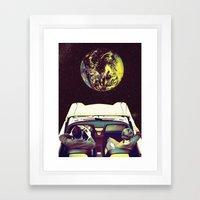 Mas Alla Framed Art Print