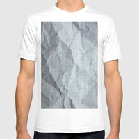 Graphic Mens Fitted Tee White SMALL