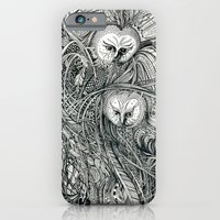 owls iPhone & iPod Cases featuring Owls by Irina Vinnik