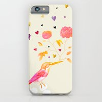iPhone & iPod Case featuring Flowers for you by TatiAbaurreDesigns