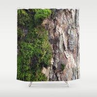Tree Moos Shower Curtain