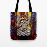 Marble Madness: Where Go… Tote Bag