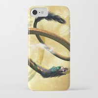 dragon iPhone & iPod Cases featuring Dragon by nicky2342