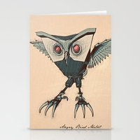 ANGRY BIRD METAL Stationery Cards