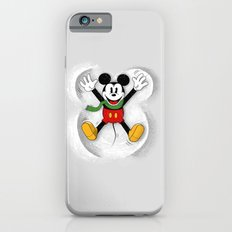 Snow Mickey Slim Case iPhone 6s