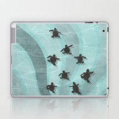 Loggerhead sea turtle hatchlings Laptop & iPad Skin
