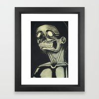 Skinless Framed Art Print