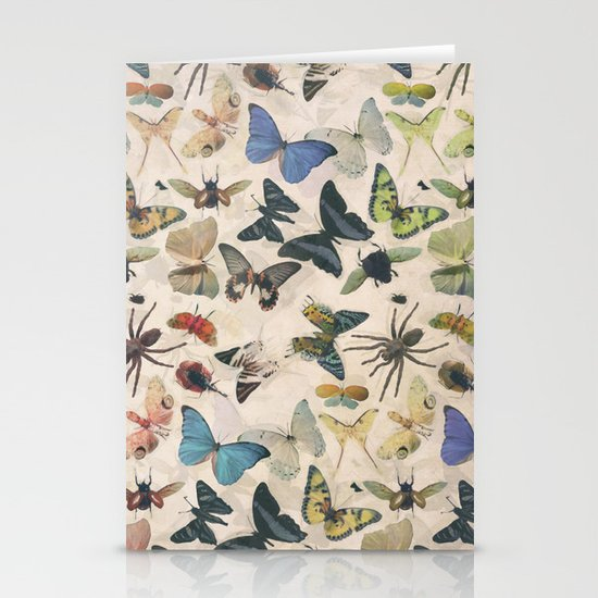 Insect Jungle Stationery Card