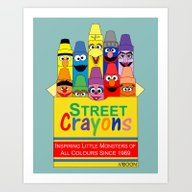 Color Me Sesame Art Print