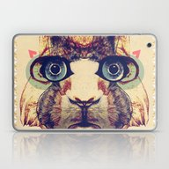 Laptop & iPad Skin featuring Rabbit Heart by Galvanise The Dog