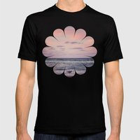 Seagull. Mens Fitted Tee Black SMALL