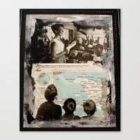 Canvas Print featuring We Teach by Marisabel Lavastida