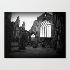 Holyrood Abbey Canvas Print