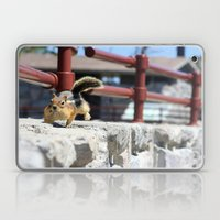 He Comes 'Runnin' For Th… Laptop & iPad Skin
