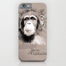 Chimpanzee (BornInNature) iPhone 6s Slim Case