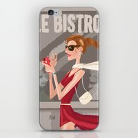 Le Bistro iPhone & iPod Skin