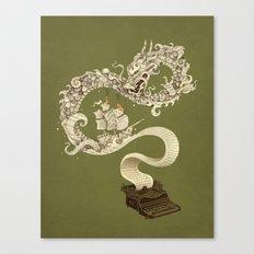 Unleashed Imagination Canvas Print