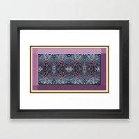 Dusty Rose Print Framed Art Print