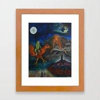 Chagollum Framed Art Print