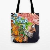 Art and Nightlife Tote Bag