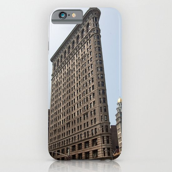 The Flat Iron Building iPhone & iPod Case