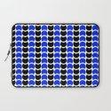 HobNob BlueBlack Print, Canvas and Laptop/iPad Skin Laptop Sleeve