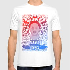 Kendrick Lamar SMALL Mens Fitted Tee White