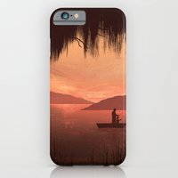 iPhone & iPod Case featuring The Fishing Trip by Gelrev Ongbico