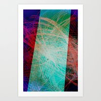 String Theory 01 Art Print