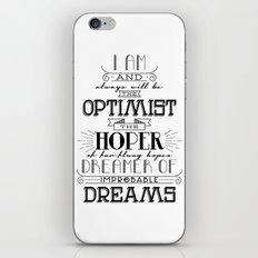 Doctor Who - Optimist iPhone & iPod Skin