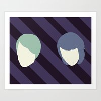 Tegan And Sarah Art Print