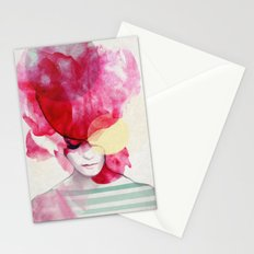 Bright Pink - Part 2  Stationery Cards