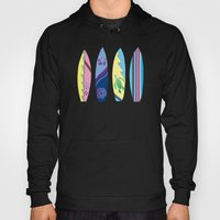 Four Surfboards Hoody