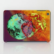 old map of a foreign world far away iPad Case