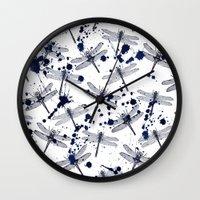Anisoptera Wall Clock
