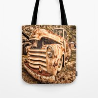 Old Pickup ( Photo By An… Tote Bag