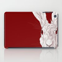 Red Rabbit  iPad Case