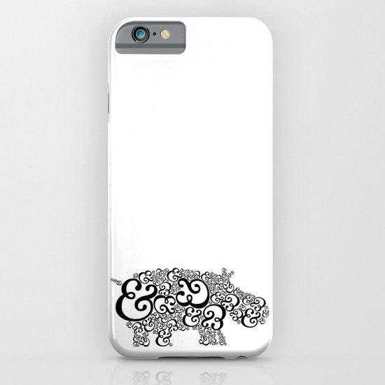 Ampersand Hippo iPhone & iPod Case