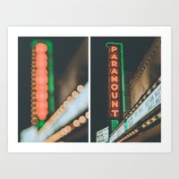 Movie Theater Art Print